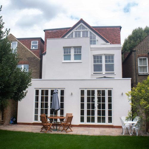 House Extension and Loft conversion in Kew