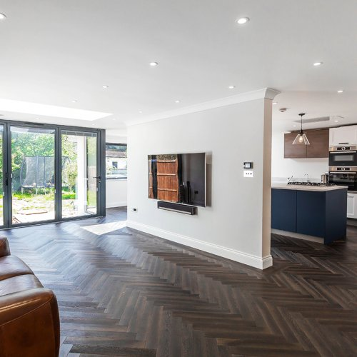Breathtaking Side return Extension and Home Refurbishment