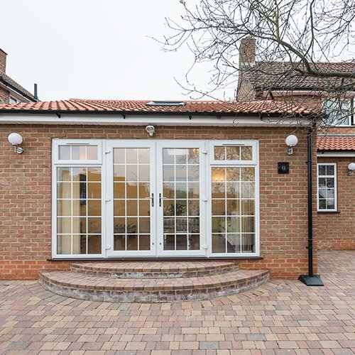Taplow single storey side extension
