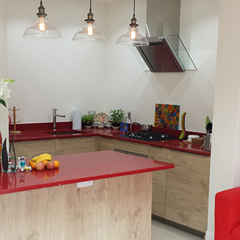 new kitchen fitted by the market design and build
