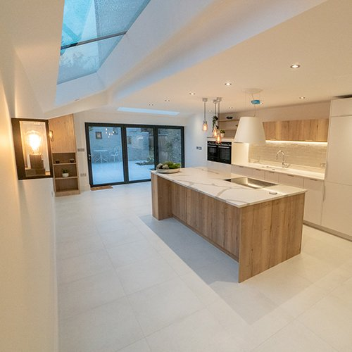 Shepherd's Bush Rear Double Storey Extension, Loft Conversion with Full House Refurb