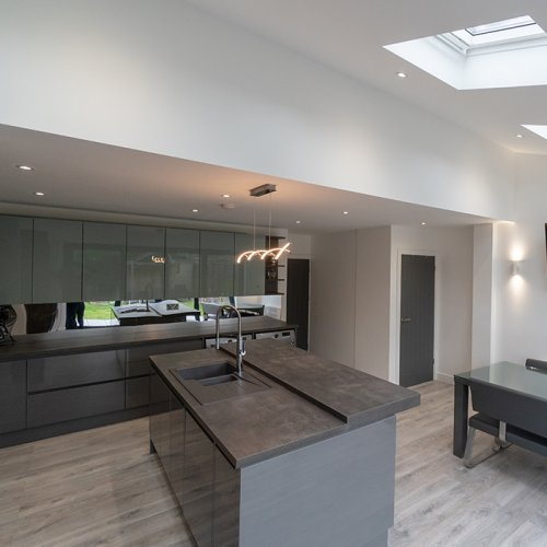 Langley Rear House Extension , Loft Conversion with Full House Refurb