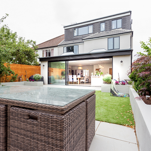 Stunning North London Home Extension and Loft Conversion
